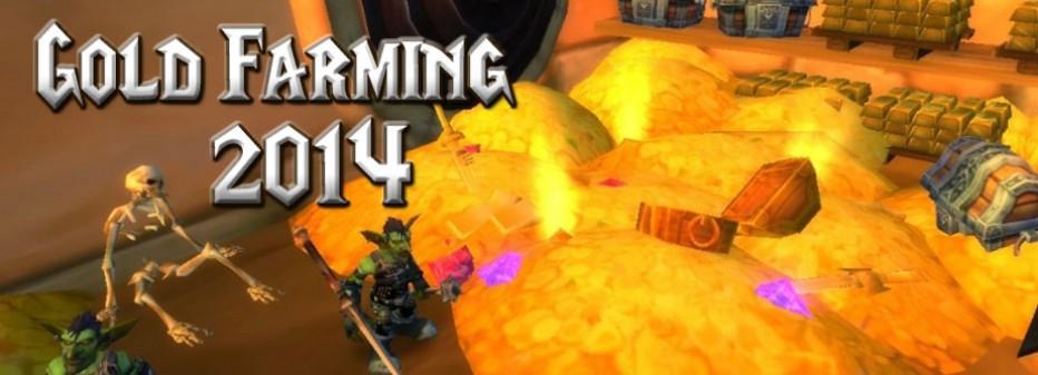 Top 8 MMORPGs that's worth investing on gold farming 2014