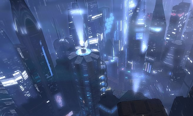 second life city insilico