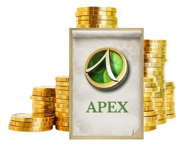 apex and coins