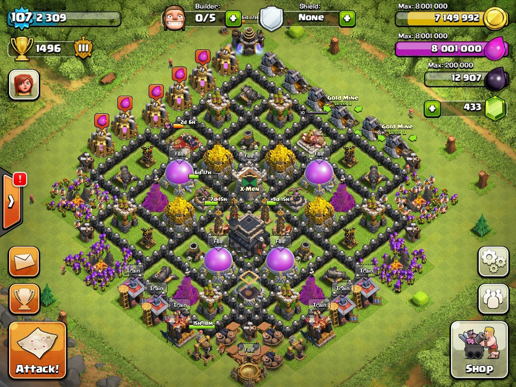 coc player base
