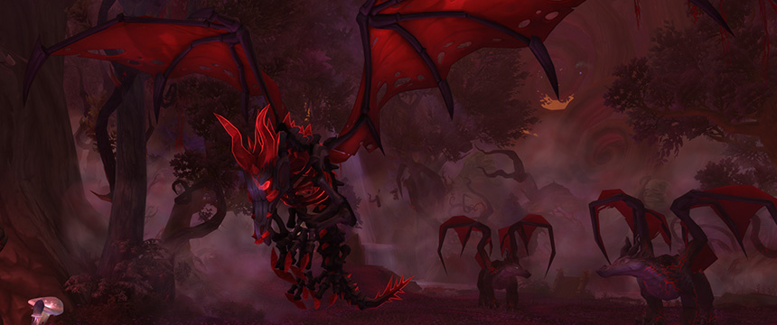 World of Warcraft Dragons of Nightmare