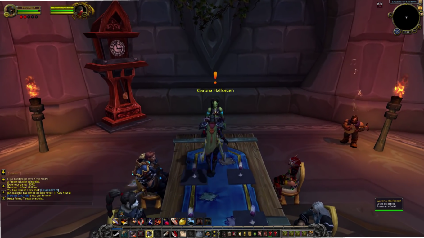 world of warcraft questing