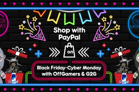 BLACK FRIDAY AND CYBER MONDAY GIVES BACK SALE WITH PAYPAL!