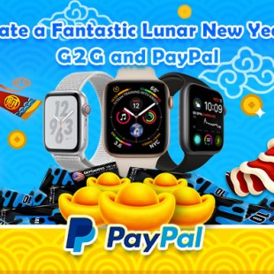 CELEBRATE A FANTASTIC LUNAR NEW YEAR WITH G2G AND PAYPAL
