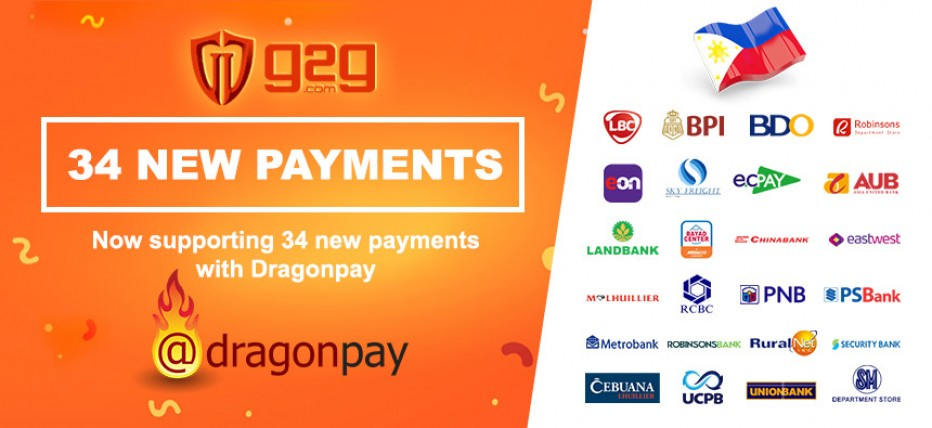 DRAGONPAY AVAILABLE TO PHILIPPINES CUSTOMERS