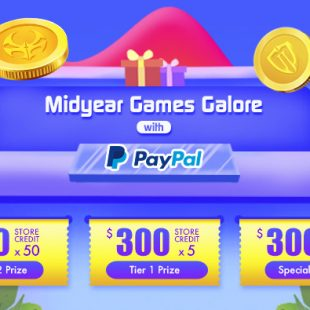 MIDYEAR GAMES GALORE WITH PAYPAL